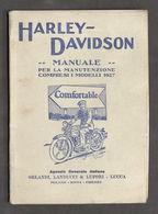 Motociclismo - Manuale Manutenzione Harley Davidson - Ed. 1927 RARO - Books, Magazines, Comics