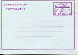 Belgium - Aerogramme 10f - Lot. 508 - Stamped Stationery