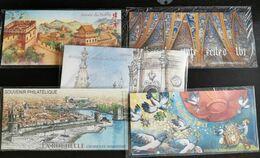FRANCE BLOCS SOUVENIRS 2009 YT N° 36 à 45 ** SOUS BLISTER - Souvenir Blokken