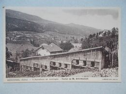 CPA RENCUREL L'Apiculture En Montagne - Rucher De Mr Bourgeon - Frankreich