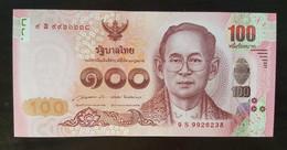 Thailand Banknote 100 Baht P#126 2015 5th Cycle Birthday HRH Princess Maha Chakri Sirindhorn (9S) - Thailand