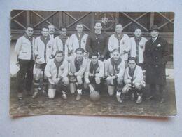 CARTE PHOTO MULHOUSE Equipe De Football 1925 - Nom Des Joueurs Au Dos - Mulhouse