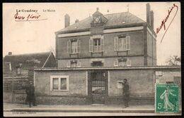 CPA  --  LA COUDRAY Eure Et Loir LA MAIRIE . Circulée En 1915 . 411.F* - Frankrijk