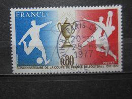 """VEND BEAU TIMBRE DE FRANCE N° 1940 , OBLITERATION """" PARIS - R. HIPPOLYTE LEBAS """" !!! - Used Stamps"""