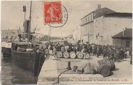 17 ILE De RE - St-Martin - Débarquement Du Bâteau De La Rochelle - Ile De Ré