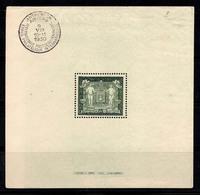 Albanie 1930 Mi. Bl. 1 Bloc Feuillet 20% Oblitéré Oblitéré Roi Zogu Ier - Blocchi 1924 – 1960