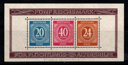 Zone Américaine, Britannique Et Russe 1946 Mi. Bl. 12A Bloc Feuillet 40% Neuf * - Zona AAS