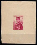 Monaco 1938 Mi. Bl. 1 Bloc Feuillet 40% Neuf * 10 F, Louis II - Blocchi
