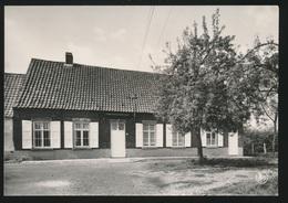 SINT MARTENS LATEM  - FOTOKAART  GEBOORTEHUIS VAN ALBIJN VAN DEN ABEELE ( 1835-1918)   ZEVECOTESTRAAT - Sint-Martens-Latem