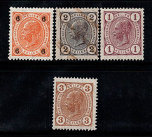 Autriche 1905 Neuf ** 100% Empereur, 1 H, 2 H, 6 H, - 1850-1918 Impero