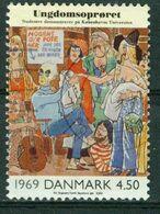 Bm Denmark 2000 MiNr 1264 Used | The Twentieth Century. Caricature From Blaeksprutten (magazine), 1969 (The Youth Revolt - Oblitérés