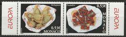 Timbres EUROPA CEPT De 2005  Thème La Gastronomie MONACO  Y&T 2491/2492 Neuf(s) ** Mnh - 2005