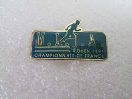 PIN'S    M I J A   ROUEN 91  CHAMPIONNAT DE FRANCE - Atletica