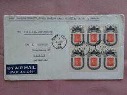 CANADA - Busta Spedita Nel 1962 In Svizzera + Spese Postali - 1952-.... Reign Of Elizabeth II