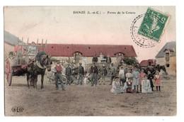 (41) 3494, Danzé, ELD Colorisée, Ferme De La Coterie, état - Autres Communes
