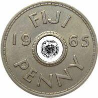 LaZooRo: Fiji 1 Penny 1965 XF - Fiji