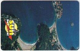 MONTENEGRO A-041 Chip MonteCard - Advertising, Tourism - Used - Montenegro