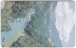 MONTENEGRO A-042 Chip MonteCard - Landscape, Lake - Used - Montenegro