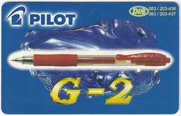 MONTENEGRO A-043 Chip MonteCard - Advertising, Pencil, Computer - Used - Montenegro