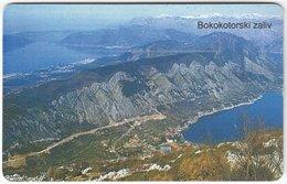 MONTENEGRO A-045 Chip MonteCard - Landscape, Coast - Used - Montenegro