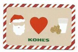 Kohl's,  U.S.A.  Carte Cadeau Pour Collection, Sans Valeur # 143 - Frankreich