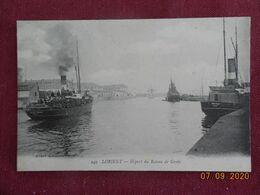 CPA - Lorient - Départ Du Bateau De Groix - Lorient