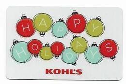 Kohl's,  U.S.A.  Carte Cadeau Pour Collection, Sans Valeur # 145 - Frankreich