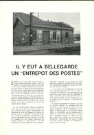 Document Relatif à L'entrepôt Du Courrier à Bellegarde 01 - Documentos Históricos