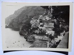 M344 FOTO  DI  POSITANO SALERNO  10,5 X 7,5 - Salerno
