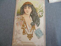 Femme  Probablement Mucha - 1900-1949