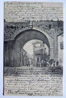 M360 CARTOLINA CALTAGIRONE  CATANIA FORMATO PICCOLO VIAGGIATA - Catania