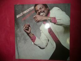LP33 N°5767 - BILLY PRESTON - PRESSIN' ON - DISCO FUNK - DISQUE EPAIS DE LA MOTOWN AVEC STAX & SATELITTES - Disco, Pop