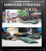 Faroe Islands Year 2005 Pack  Complete Map, (**)  ( Lot Kas) - Faeroër