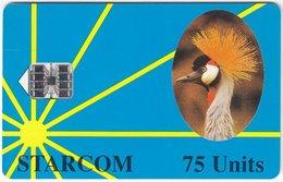 UGANDA A-053 Chip Starcom - Animal, Bird - Used - Uganda