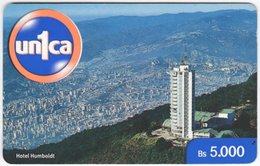 VENEZUELA B-668 Prepaid Un1ca - View, Town - Used - Venezuela