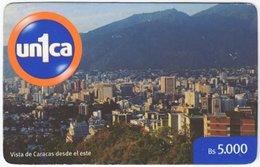 VENEZUELA B-671 Prepaid Un1ca - View, Town - Used - Venezuela