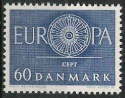 (*) EUROPA CEPT DANEMARK 1960 N° Y&t 394 Neuf(s) ** MNH Luxe - Europa-CEPT