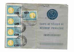 Timbre Fiscal  Réfugiés  Russe - Revenue Stamps