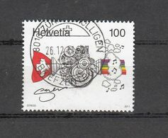 2011   N° 1411   OBLITERE   CATALOGUE ZUMSTEIN - Oblitérés