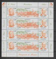Monaco 2004 Palais Princier 2467-69 En Feuille ** MNH - Unused Stamps