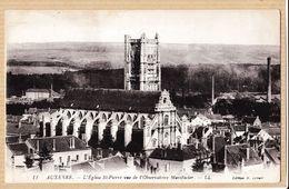 X89080 AUXERRE Yonne Eglise SAINT-PIERRE Vue De L'observatoire MANIFACIER  1910s H.LENOIR LEVY 11 - Auxerre