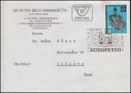 Österreich: EUROPA Folklore, EF FDC Europatag 22.5.1981 In Die CSSR - Costumes