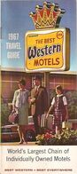U.S.A. - 1967 TRAVEL GUIDE - WORLD'S LARGEST CHAIN OF INDIVIDUALY OWNED MOTELS. - Esplorazioni/Viaggi