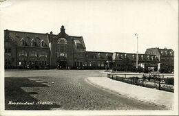 Nederland, ROOSENDAAL, Railway Station (1930s) Ansichtkaart - Roosendaal