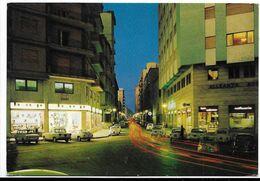 Trapani - Corso Italia - Notturno. Auto, Car, Voitures. - Trapani