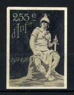 WW1- DELANDRE - 255e Rgt D'Infanterie  - ND - Vignette NEUVE ( Sans Traces De Charnières ) - NMNH - Erinnophilie
