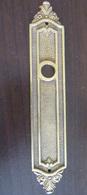Grand Ornement De Poignée De Porte En Bronze - Longueur : 18 Cm, Poids : 127 Grammes - 18e Ou 19e Siècle - Bronces