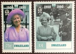 Swaziland 1990 Queen Mother MNH - Swaziland (1968-...)