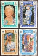 Turks & Caicos 1990 Queen Mother MNH - Turks And Caicos