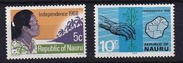 Nauru: 1968   Independence    MNH - Nauru